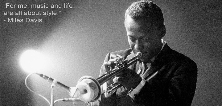 Quote About Jazz Music: Jazz God Miles Davis Music Quote