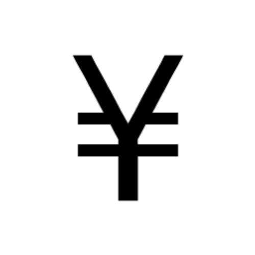 Image result for yen currency symbol