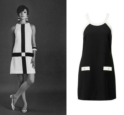 60'lı yıllardan bir model ve Monochramania koleksiyonundan bir elbise... Forever New'un bu döneme getirdiği yorumu sevdiniz mi?