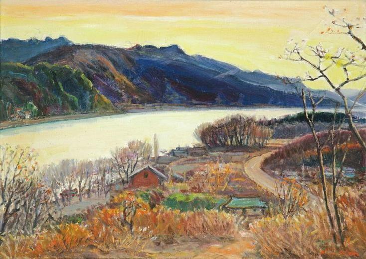 인상주의 풍경화가 김원(1912 ~ 1994)의 그림