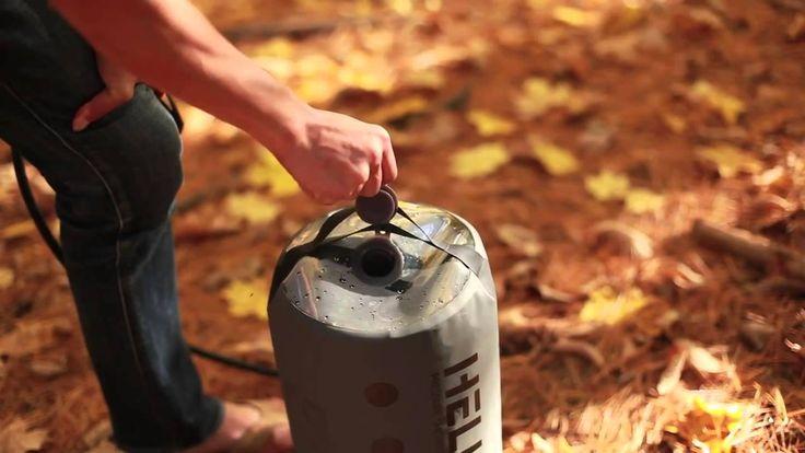 Cool Camping Gadget Nemo Helio Pressure Shower
