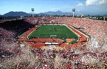National Stadium - Santiago Chile - we went to the 2003 District Convention here
