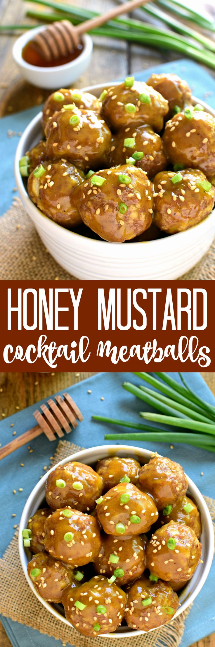 These Honey Mustard Cocktail Meatballs are one of our favorite appetizers! The perfect blend of savory and sweet, they're guaranteed to be the hit of your next party! @philsfresheggs #ad
