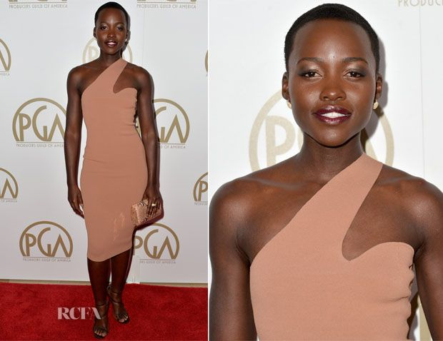 Lupita Nyong'o In Stella McCartney – 2014 Producers Guild of America Awards