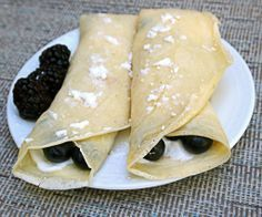 Light & Delicious Healthy Crepes Recipe