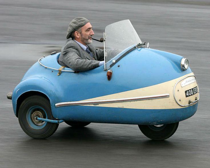 The Brütsch Mopetta – A Rare And Unusual German Microcar – diego jagger