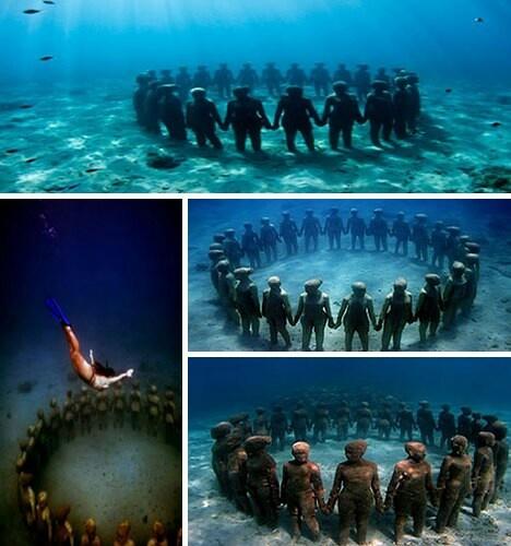 Grenada Underwater Sculptures