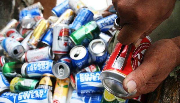 Daur ulang limbah kaleng