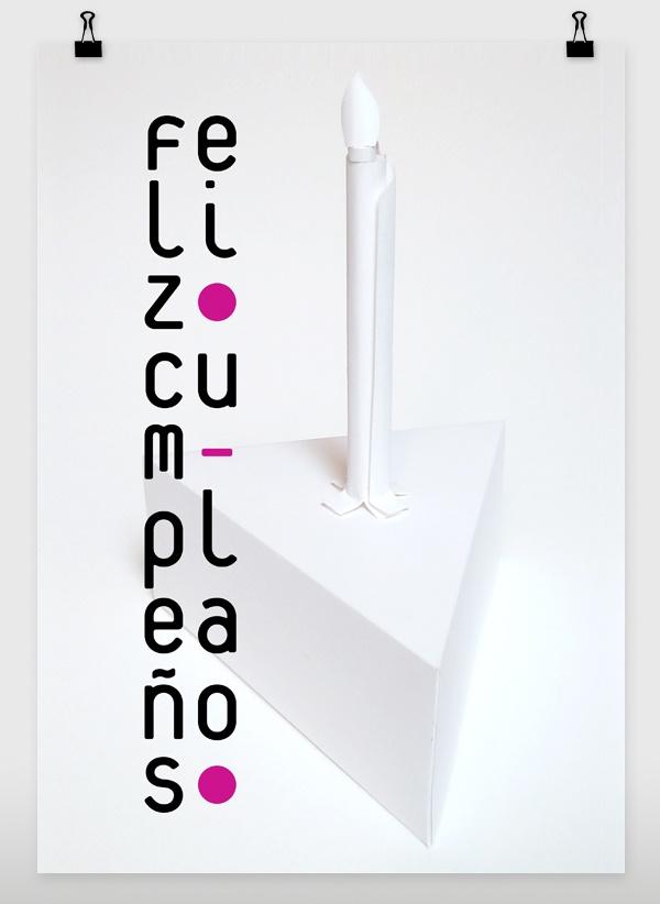 Paper & photography. *)  B.day by Alejandra Vargas Díaz, via Behance: Vargas Díaz, Prints Design, Alejandra Vargas