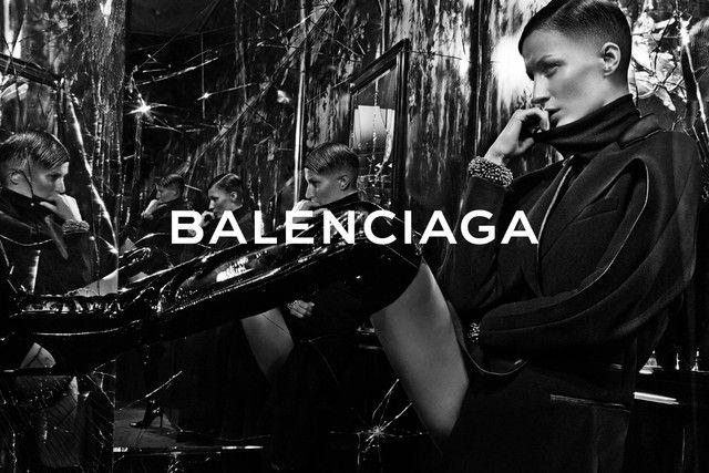 Balenciaga Fall 2014.15   Gisele Bundchen Models Short Hair for Steven Klein in the latest campaign for Balenciaga.