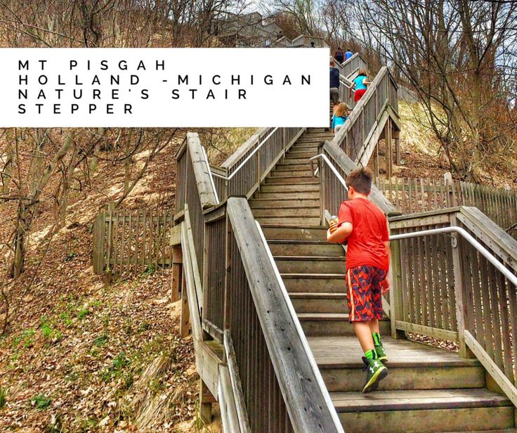 Holland Mt Pisgah Dune Boardwalk And Stair Climb The Takes You Michiganlake Michiganwisconsinbeach Hotelscabin