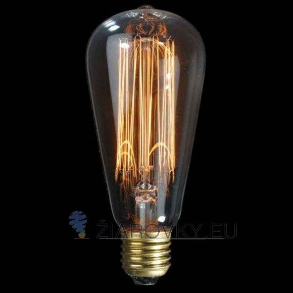 Žiarovka dokáže vykúzliť fantastické osvetlenie pre zlepšenie nálady. Vďaka štandardnej pätici E27 ju môžete použiť do akéhokoľvek lustra, lampy ktorá má túto päticu. Vďaka svojmu dizajnu sviečky sa táto žiarovka hodí ako diskrétne efektné osvetlenie na večerné posedenie.