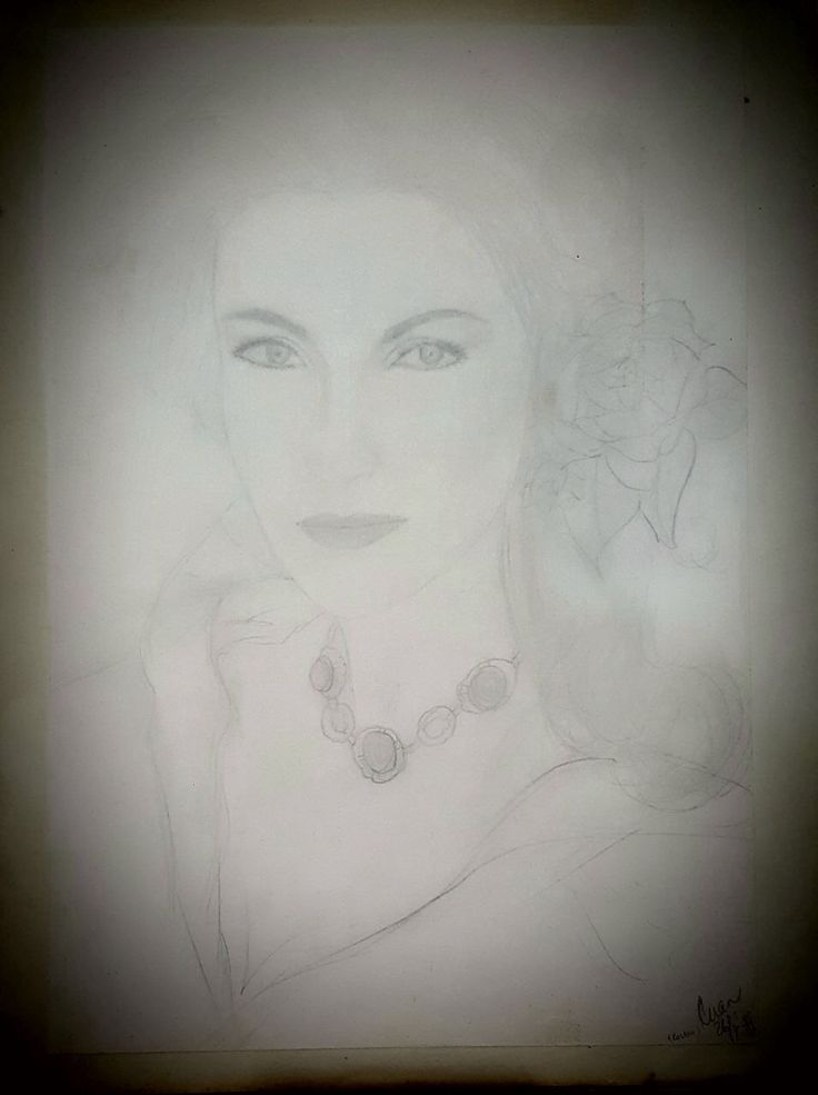 Old sketch of Jane Seymour