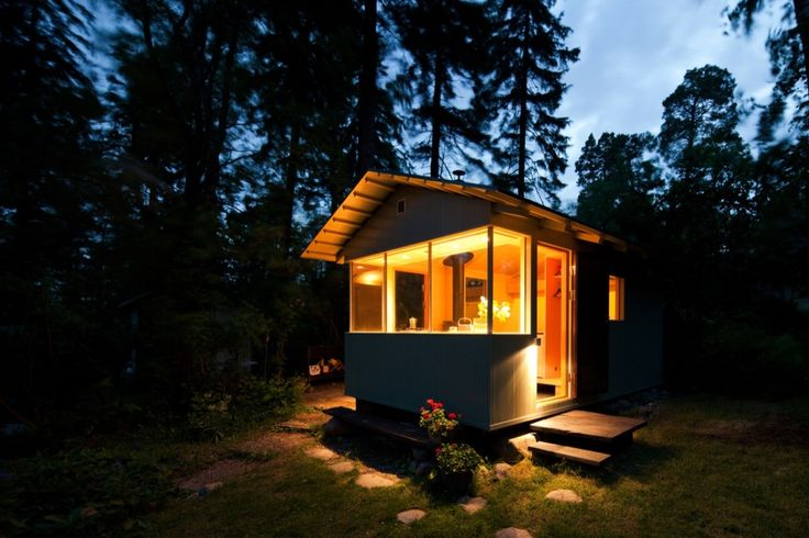 City Cottage, located on the island Lauttasaari, Finland by Verstas Architects