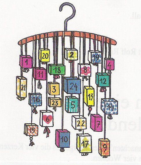 domácí adventní kalendář - Hledat Googlem