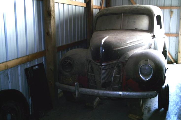 1940 Ford Deluxe Sedan Delivery Project - http://barnfinds ...