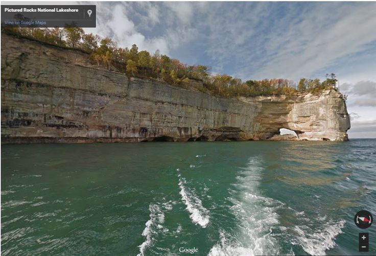 These 8 Stunning Google Maps Street View Images Will Make You Want to Visit Michigan Immediately.
