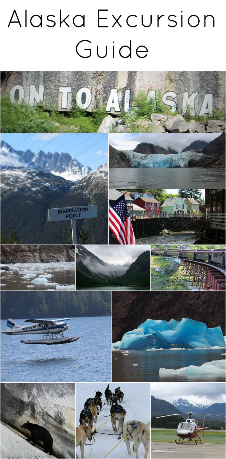 Alaska Excursion Guide - What excursions to book in Alaska!   #comebacknew  #alaskacruise #alaska