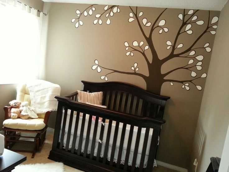 I painted this tree in our soon to be daughters nursery.  We love it!