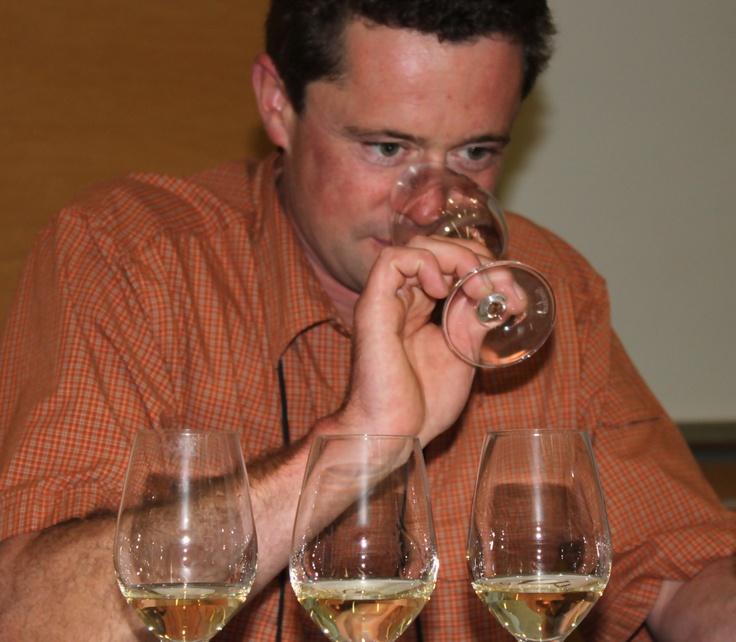 Matt Mavety is the winemaker at Blue Mountain Vineyard and Cellars in Okanagan Falls, British Columbia. (Photo by Elena Galey-Pride)