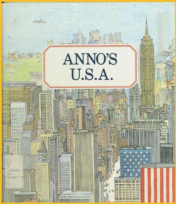 Mitsumasa Anno - Anno's USA cover