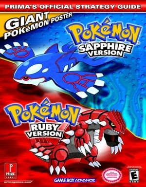 Pokemon Sapphire / Ruby Version Strategy Guide  (Video Game Guides)