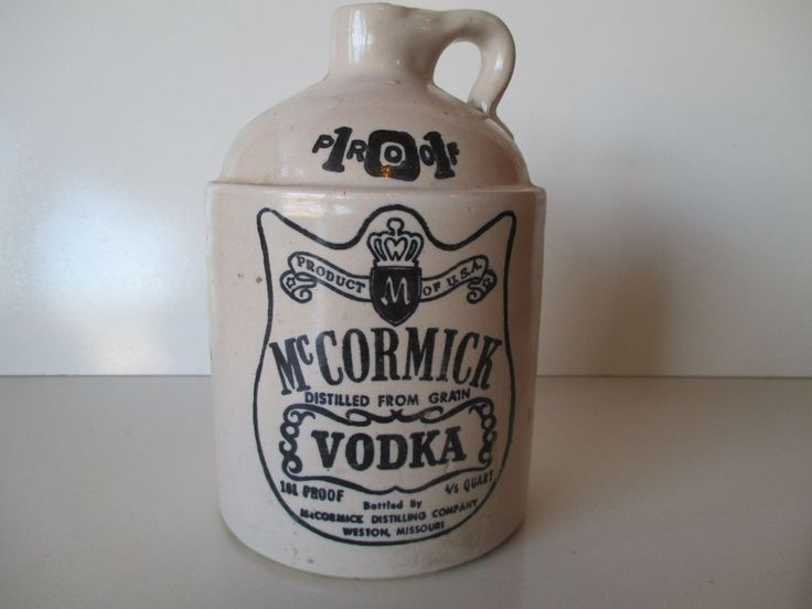 McCormick Vodka Bottle 4/5 Quart