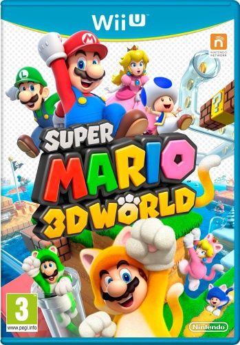 Kändes det lite trångt med fyra spelare på de tvådimensionella banorna i tidigare Mario-spel? SUPER MARIO 3D WORLD bjuder in hela familjen till en helt ny värld av underhållning!  Fyra spelbara karaktärer  Spela som Mario, Luigi, prinsessan Peach eller Toad i 3D-världar som trots den extra dimensionen ändå inte är så stora att du går vilse. Mario är lagom bra på allt, Luigi kan hoppa längre oc