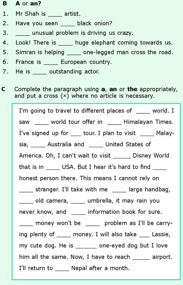 Grade 6 english grammar