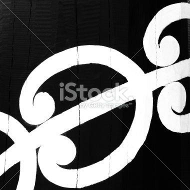 Maori Design Royalty Free Stock Photo