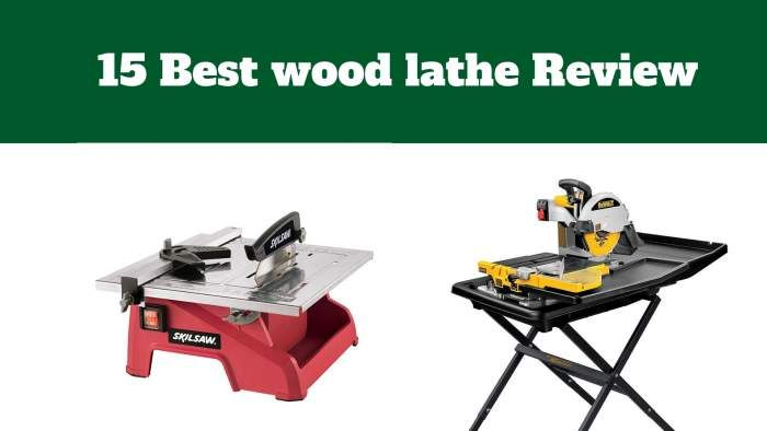 15 Best Tile Saw Review Tools Gears Tile Saw Best Wood Lathe Skil Saw