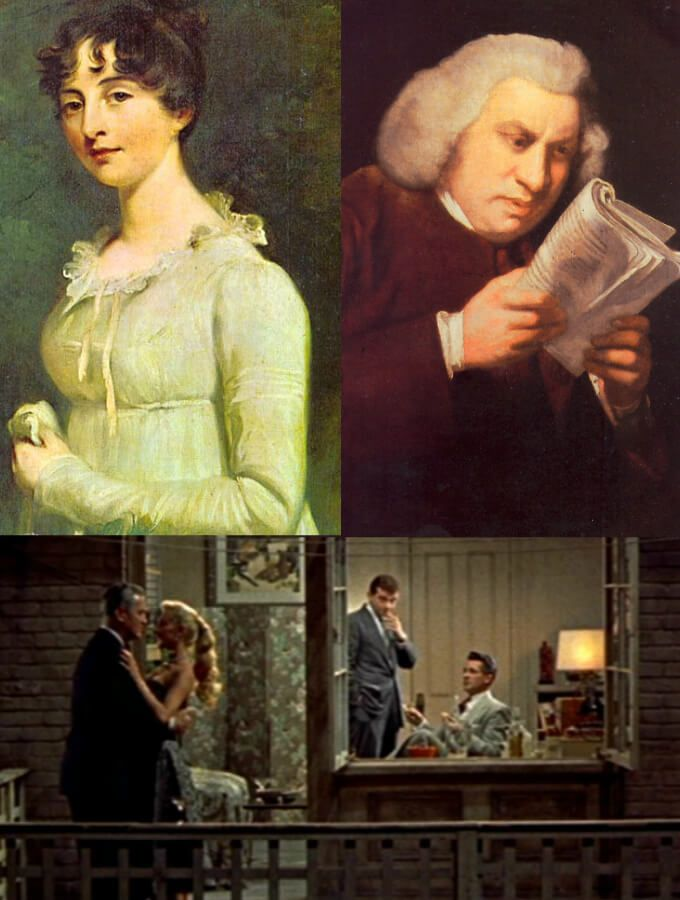 My favourite literary allusion : Jane Austen's Persuasion Samuel Johnson's Rambler 47 & a 21st century prescription for juggling wolves - smelling salts journal