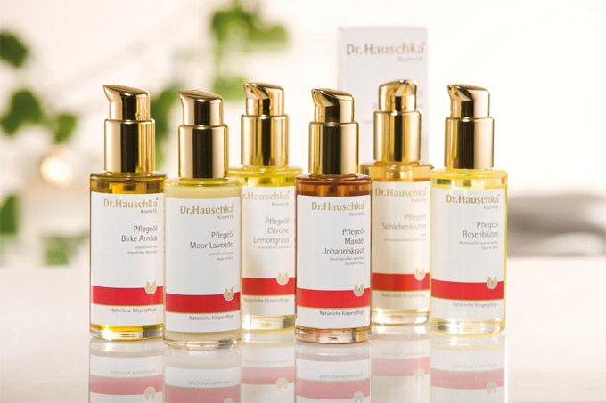 DR. HAUSCHKA   Tapping into natural forces, Dr.Hauschka's products try to obtain and retain the power of medicinal plants and transfer this into their coveted products