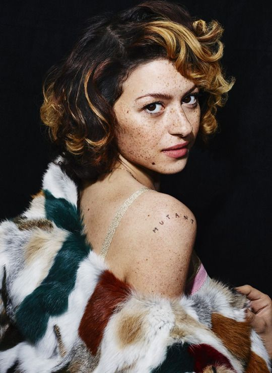Alia Shawkat photographed by Matt Irwin for V magazine