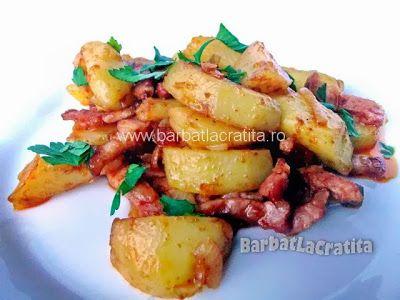 Cartofi ţărăneşti cu afumătură