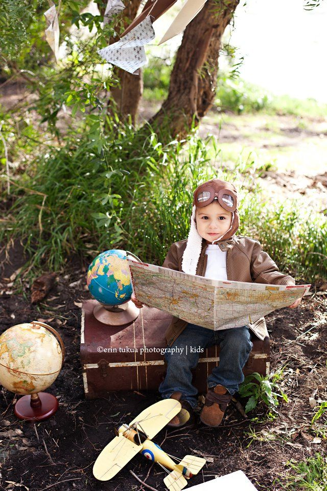 Airplane Themed Shoot.