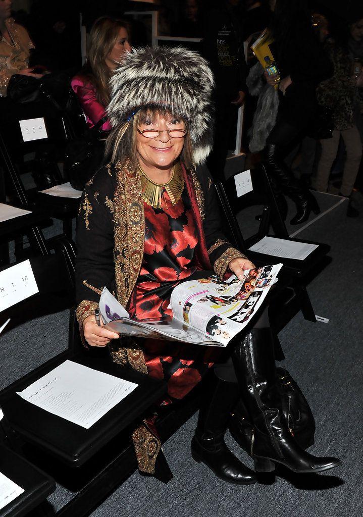 Hilary Alexander Photos: Prabal Gurung - Front Row - Fall 2011 Mercedes-Benz Fashion Week