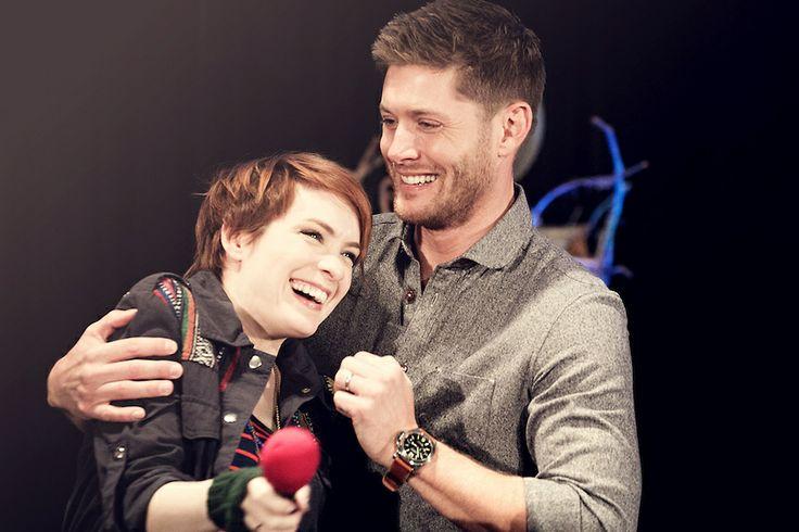 Jensen Ackles and Feli...