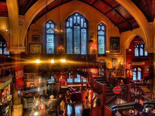 Met my brother at O'Neills in Muswell Hill on Saturday, a pub in a church! Apparently there had been a market in there before I arrived too. Doesn't beat the Terra Nova in Cardiff but it's up there.