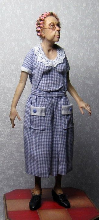 Polymer Clay Art Dolls | Sharon Cariola | polymer clay art dolls.....not a doll I would want, but egads it looks so real!