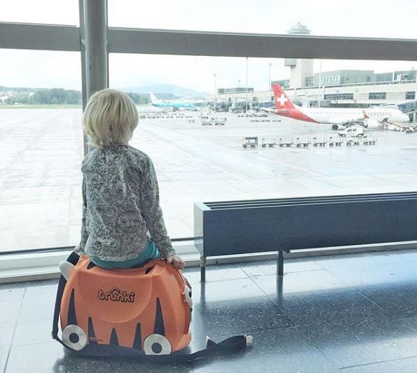 Enjoy your trips with Trunki! Pick your favorite animal and travel the world together! #travel #kidssuitcase #trunki