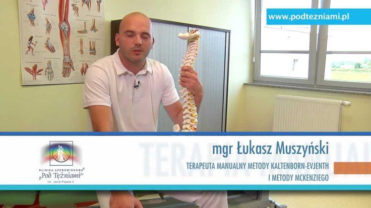 Bóle kręgosłupa lędźwiowego www.podtezniami.pl