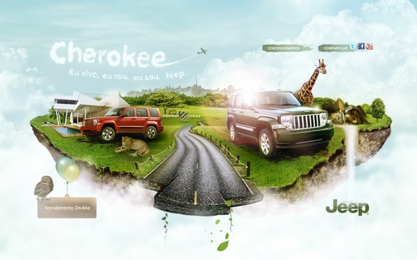 Jeep Cherokee Limited (Webneel Daily Graphics Inspiration 541)