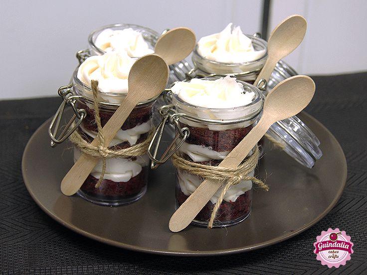Cakes in a jar... Red Velvet