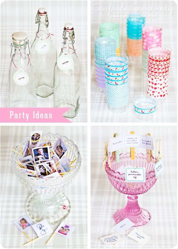 Party Ideas - Craft and Creativity