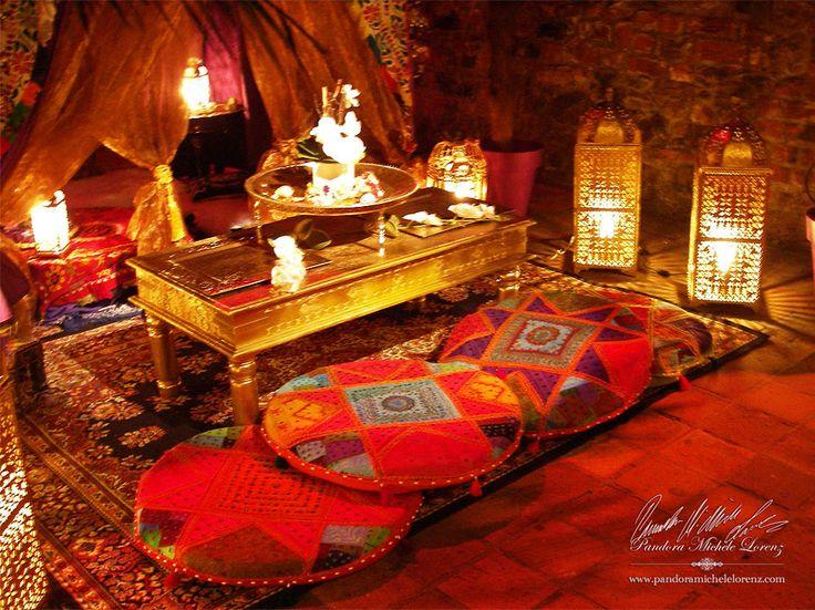 orientalischer palast innen orientalischer palast stock abbildung bild 46586731. Black Bedroom Furniture Sets. Home Design Ideas