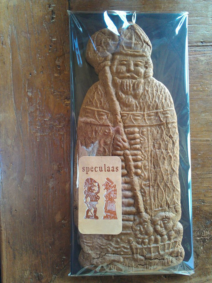 Sinterklaas speculaas - St Nicholas cookie - St Nikolaus spekulatius ( made by arts-et-sculpture - woodcarver)