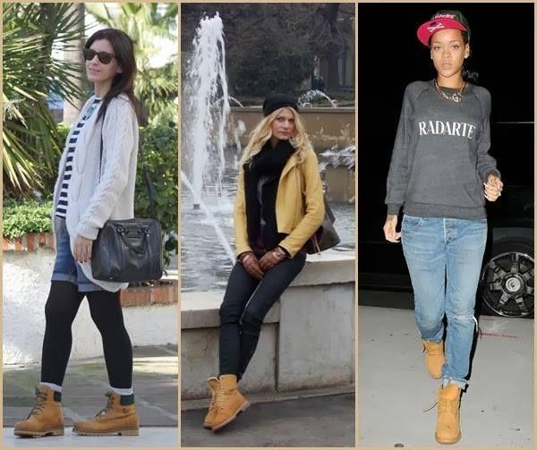 """Es un hecho, las típicas botas amarillas que hizo famosas la marca """"Timberland"""" son tendencia, en parte gracias a una buena campaña de marketing y a la vez porque son versátiles, resistentes, calientes e impermeables pero además porque se pueden comprar en varios colores y por otra parte porque se pueden customizar."""