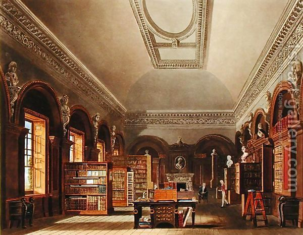 St. James Palace Inside | The Queen's Library, St. James's Palace, from 'The History of the ...