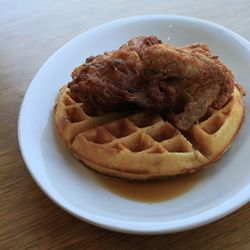 King Daddy's is serving up fried chicken and waffles on Haywood Road in West Asheville. We take our food, our service, & our bar very seriously. We only hire nice folks who love caring for our guests. We source chicken that is raised humanely & use as many local ingredients as we can on the food and bar menu, building drinks and entrees that are both fresh and creative.